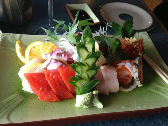 Tough City Sushi: assorted sashimi