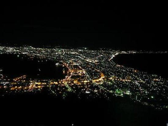 Hakodate, Japan: 夜景です。