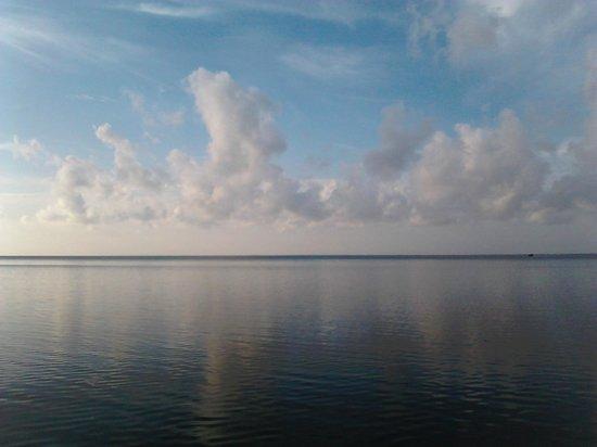 Hotel Villas Delfines: En la laguna camino a la isla
