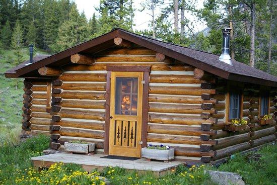 Flat Creek Ranch: cal cabin