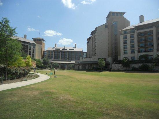 JW Marriott San Antonio Hill Country Resort & Spa: back side