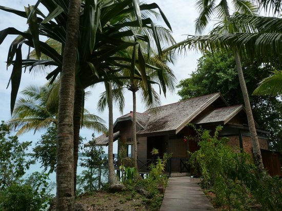 Nabucco Island Resort: a bungalow