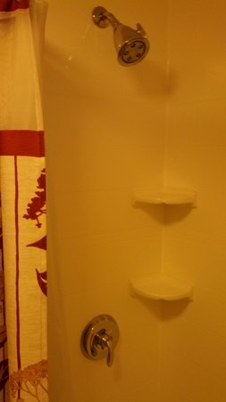 Courtyard by Marriott Norwalk: Shower