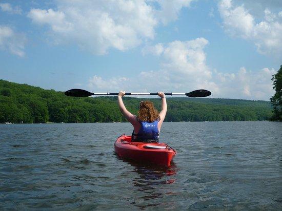 Wisp Resort: Wisp Kayak at deep Creek Lake