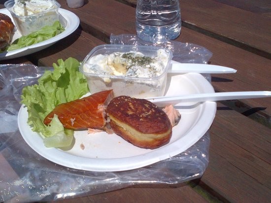 AEroeskoebing Roegeri: Great picnic lunch
