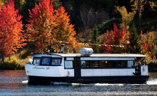 Sainte Agathe des Monts, Canada: Croisière sur le Lac-des-Sables a Ste-Agathe-des-Monts