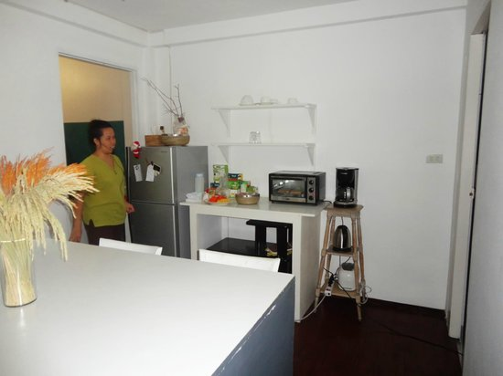 Littlest Guesthouse: Thats the housekeeper who cooks, cleans and always smiles