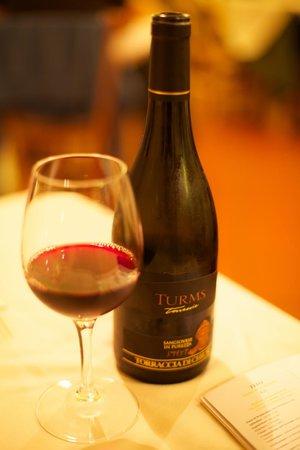 Torraccia di Chiusi: Wine with Dinner