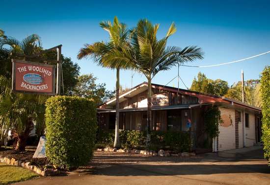 Aussie Woolshed Backpackers Hervey Bay, Fraser Island: Woolshed