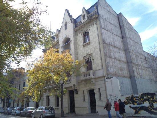Santiago de Chile. Calle Dieciocho.
