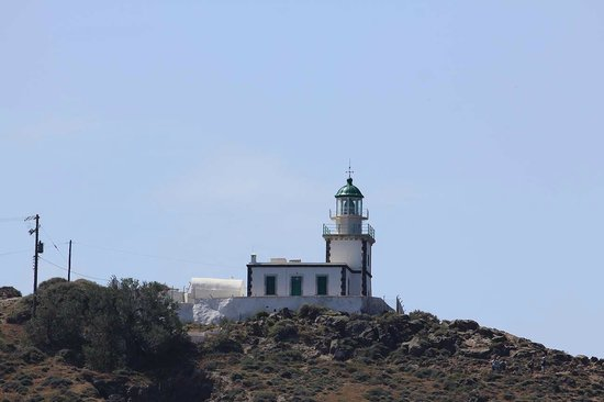Santorini Sailing: Venetian Lighthouse