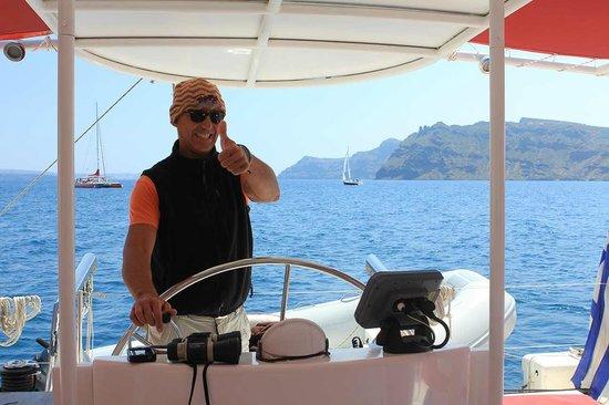 Santorini Sailing : Captain