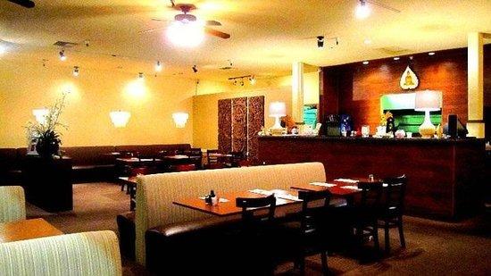 Thai Terrace : Inside the restaurant