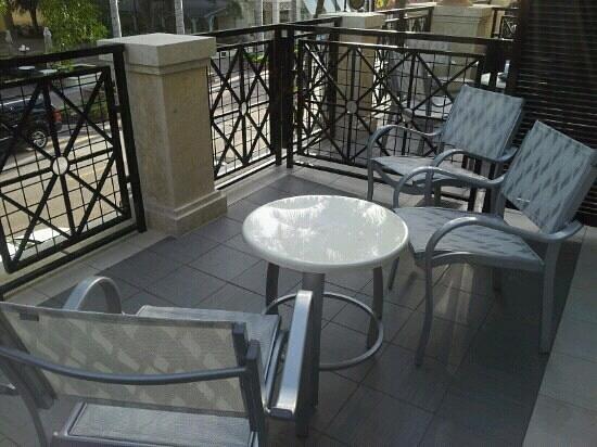 Inn on Fifth: Our Balcony