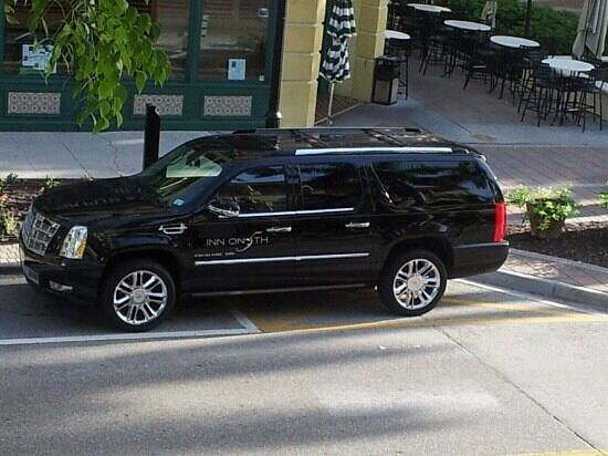 """Inn on Fifth: Escalade- Used to """"taxi"""" guests"""
