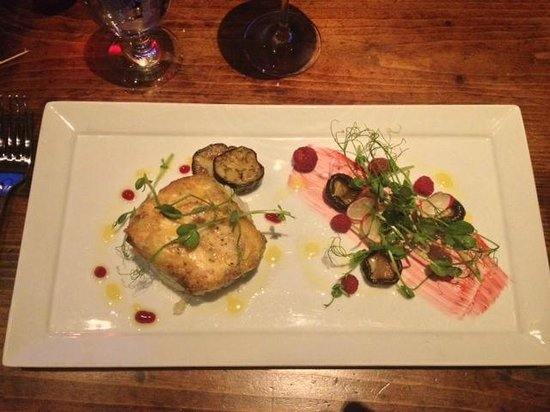 Villa Creek Bar & Grill : Seared Cod