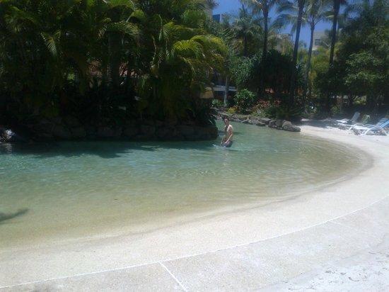 Oaks Seaforth Resort : Pool lagoon