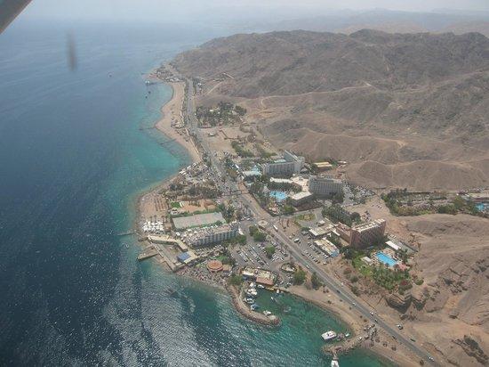 Aqua Beach from the Air