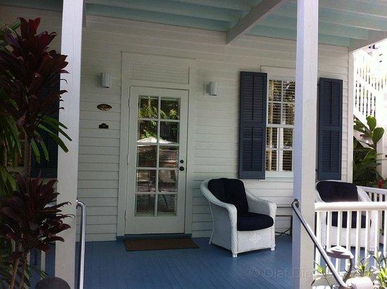 Marquesa Hotel : Porch