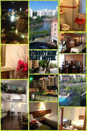 Robertson Quay Hotel: Collage of RQH & Various Aspects There!