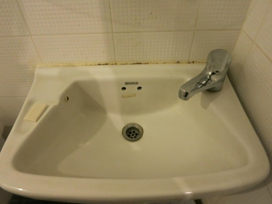 Eurana Boutique Hotel: Mould by the sink