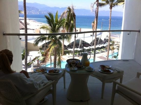 Hilton Puerto Vallarta Resort: Junior Suite balcony
