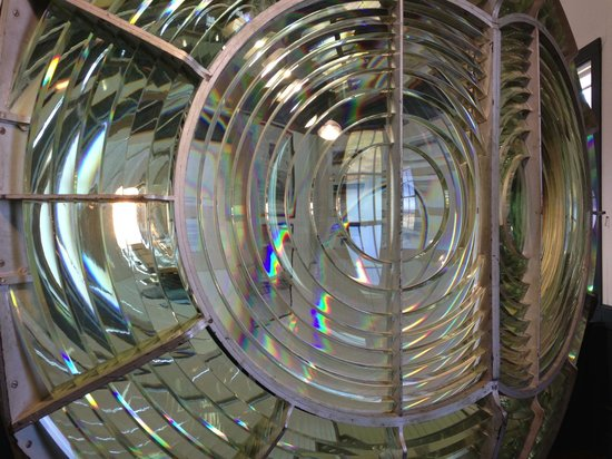 Point Arena Lighthouse & Museum: First Order Fresnel Lens