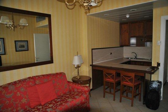 ATAHOTEL Linea Uno Residence: Кухня-столовая