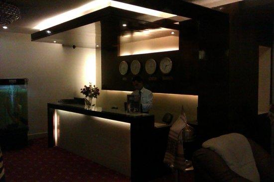 Hotel KRC Palace : Reception