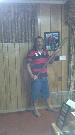 "Adamsville, TN: Me ( Ricky ) holding "" The Stick """