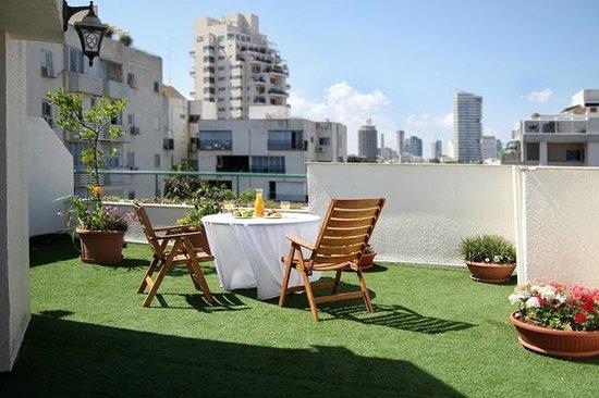Arbel Suites Hotel: rooftop