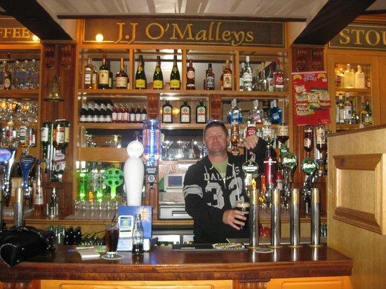 J.J O'Malleys Bar & Restaurant: My interview well!!!