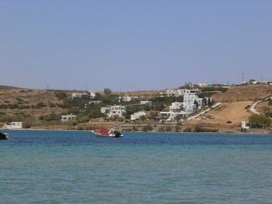 Villas Georgy vue de la mer