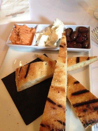 The Rose & Crown Hotel : Mezze plate