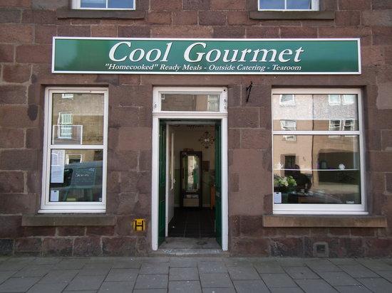 Cool Gourmet shop front
