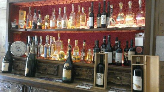 Regina: Bancone dei distillati