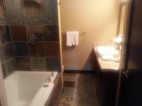 Silver Creek Lodge: Bathroom
