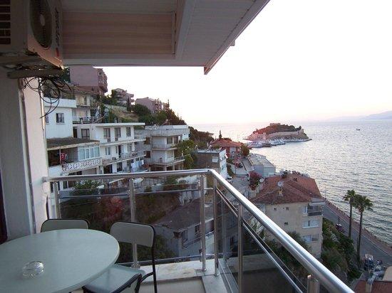 Hotel Stella: terrace view 5th floor room