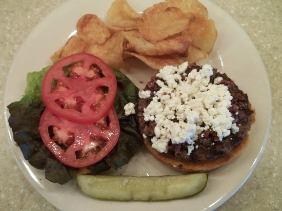 Greenleaf Restaurant: Feta Cheese Burger