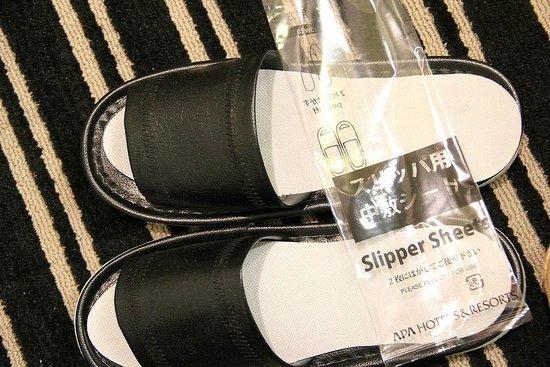 APA Hotel Shibuya Dogenzakaue : Disposable Slipper Sheet
