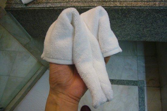 Century Park Hotel: 鼻の形はこんな感じ