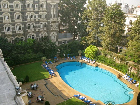 The Taj Mahal Palace, Mumbai: Pool in heritage wing