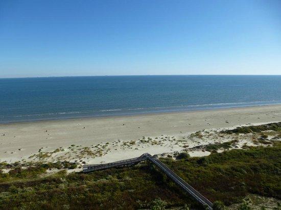 The Galvestonian: Wundervolle Aussicht von unserem privaten Balkon!