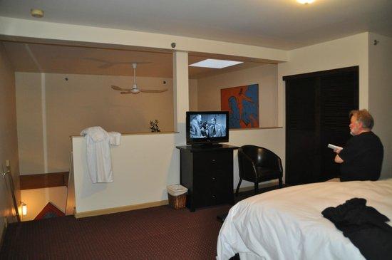 Swans Hotel & Brewpub: Swans Suite Hotel Chambre