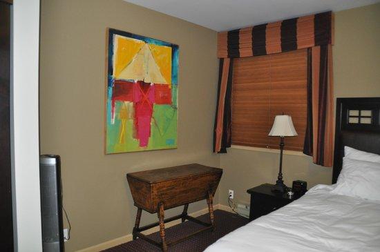 Swans Hotel & Brewpub: Swans Suite Hotel suite+terrasse