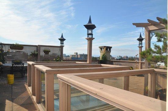 Swans Hotel & Brewpub : Swans Suite Hotel Terrasse suite+terrasse