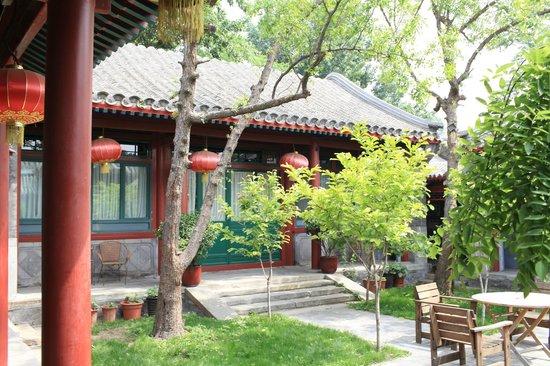 Beijing Sihe Courtyard Hotel: courtyard