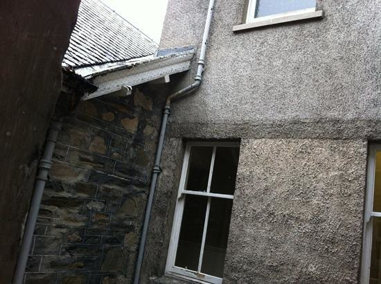 The Craiglynne Hotel: the view from our room - not a £126 a night experience!