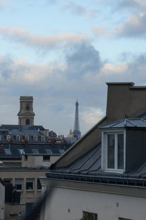 Le Petit Belloy Saint Germain : View from window