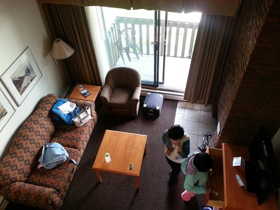 Best Western Jasper Inn & Suites: View from loft